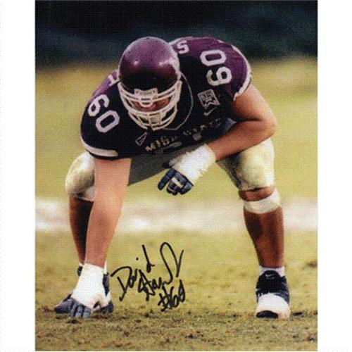 David Stewart Autographed Mississippi State Bulldogs 8x10 Photo