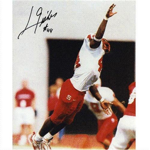 Levar Fisher Autographed North Carolina NC State Wolfpack (Blocking FG) 8x10 Photo