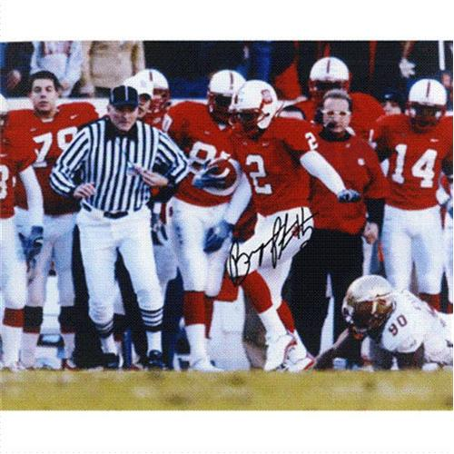Bryan Peterson Autographed North Carolina NC State Wolfpack 8x10 Photo