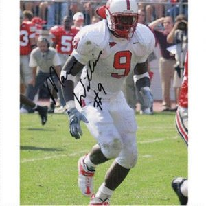 Mario Williams Autographed North Carolina NC State Wolfpack 8x10 Photo