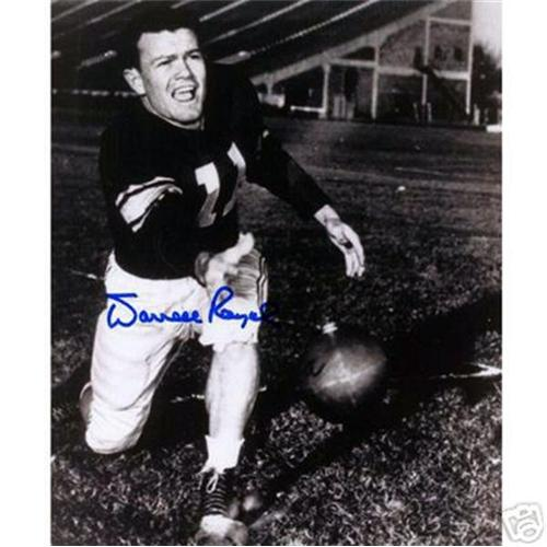 Darrell Royal Autographed Oklahoma Sooners (Playing) 8x10 Photo