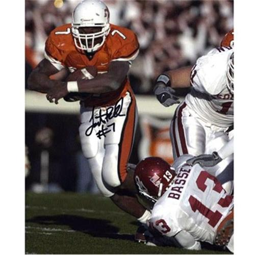 Tatum Bell Autographed Oklahoma State Cowboys 8x10 Photo