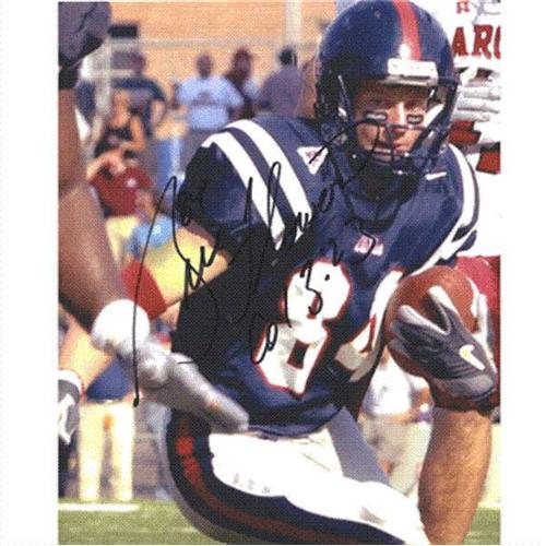 Bill Flowers Autographed Ole Miss Rebels 8x10 Photo