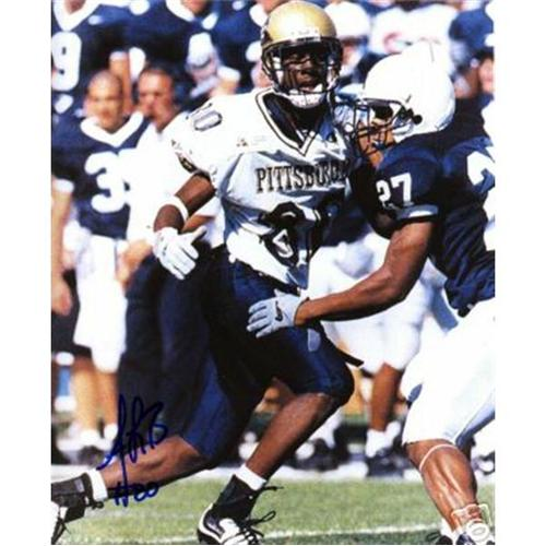 Antonio Bryant Autographed Pittsburgh Panthers (vs Penn State) 8x10 Photo
