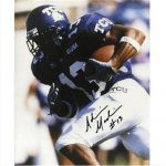 Adrian Madise Autographed Texas Christian TCU Horned Frogs 8×10 Photo