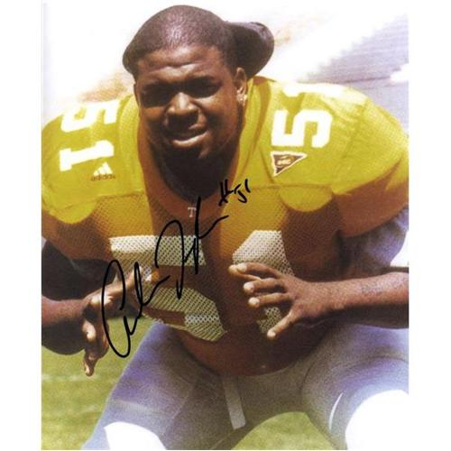 Andre Taylor Autographed Tennessee Volunteers 8x10 Photo