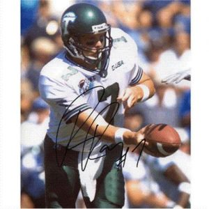 Patrick Ramsey Autographed Tulane Green Wave 8x10 Photo