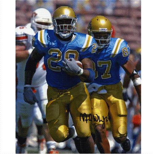 Manuel White Autographed UCLA Bruins 8x10 Photo