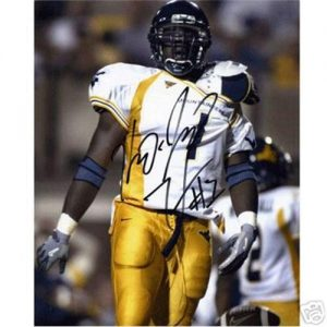 Kay Jay Harris Autographed West Virginia Mountaineers 8x10 Photo