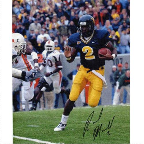 Rasheed Marshall Autographed West Virginia Mountaineers 8x10 Photo