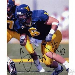 Grant Wiley Autographed West Virginia Mountaineers 8x10 Photo