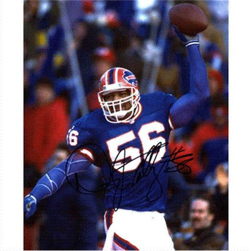 Darryl Talley Autographed Buffalo Bills 8x10 Photo