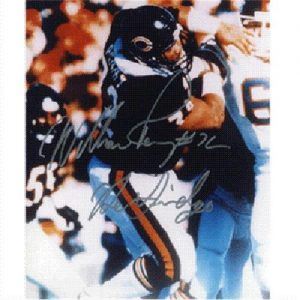 """William Perry Autographed Chicago Bears 8x10 Photo w/ """"The Fridge"""""""