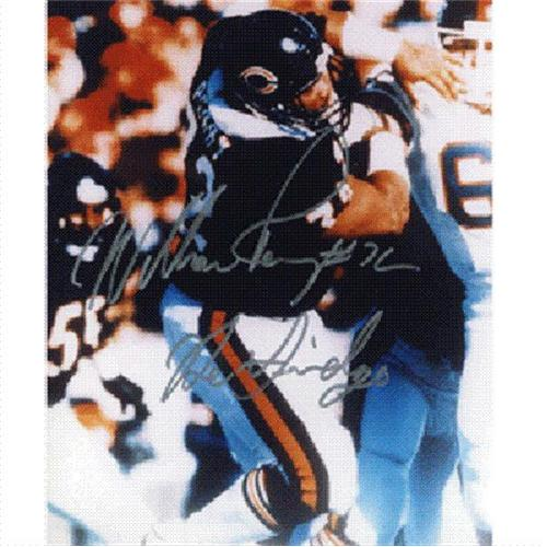 "William Perry Autographed Chicago Bears 8x10 Photo w/ ""The Fridge"""