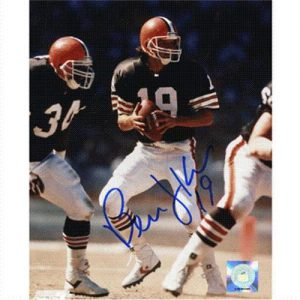 Bernie Kosar Autographed Cleveland Browns 8x10 Photo