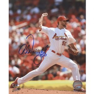 Adam Wainwright Autographed St. Louis Cardinals 8x10 Photo