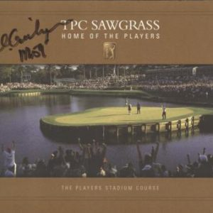 "Al Geiberger Autographed TPC Sawgrass Stadium Course Scorecard w/ ""Mr. 59"" - 1975 TPC Champion"