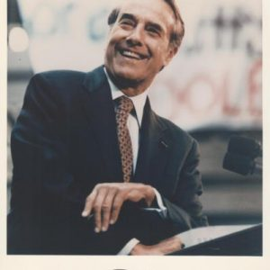 Bob Dole Autographed Political 8x10 Photo