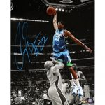 Corey Brewer Autographed Minnesota Timberwolves (Spotlight Dunk vs Fisher) 16×20 Photo