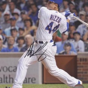 Anthony Rizzo Autographed Chicago Cubs 8x10 Photo