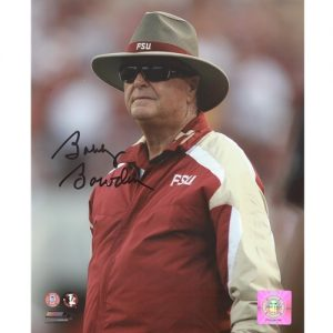 Bobby Bowden Autographed Florida State FSU Seminoles (Cowboy Hat) 8x10 Photo