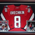 Alex Ovechkin Autographed Washington Capitals (Red #8) Deluxe Framed Jersey