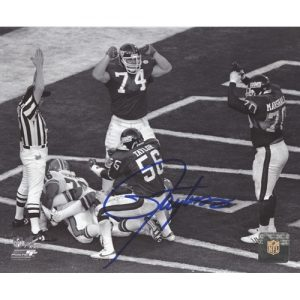 Lawrence Taylor Autographed New York Giants (SB XXI Safety) 8x10 Photo