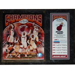 Miami Heat 2012 NBA Champions 8x10 Photo Stat Plaque