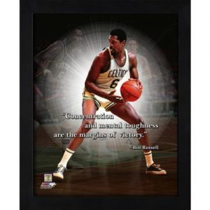 "Bill Russell Boston Celtics Framed 11x14 ""Pro Quote"""