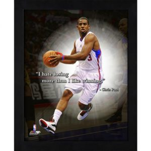 "Chris Paul Los Angeles Clippers Framed 11x14 ""Pro Quote"""