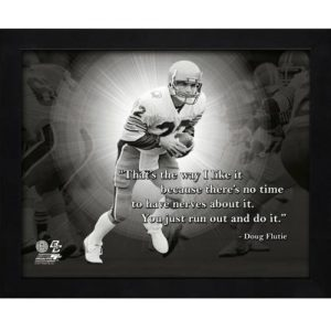 "Doug Flutie Boston College Framed 11x14 ""Pro Quote"""
