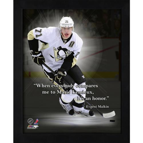 "Evgeni Malkin Pittsburgh Penguins Framed 11x14 ""Pro Quote"""