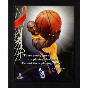"Kobe Bryant Los Angeles Lakers Framed 11x14 ""Pro Quote"""