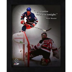 "Mark Messier New York Rangers (Action) Framed 11x14 ""Pro Quote"""