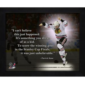 "Patrick Kane Chicago Blackhawks Framed 11x14 ""Pro Quote"""