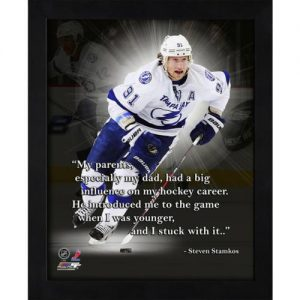 "Steven Stamkos Tampa Bay Lightning Framed 11x14 ""Pro Quote"""