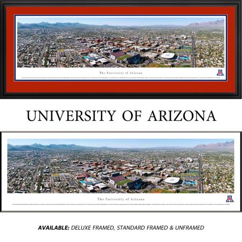 University of Arizona Wildcats Framed Stadium Panoramic