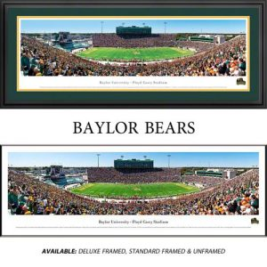 Baylor University Bears Framed Stadium Panoramic