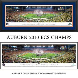 Auburn University Tigers (2011 BCS) Framed Stadium Panoramic
