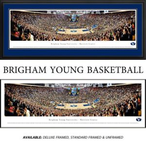Brigham Young University (Basketball) Framed Stadium Panoramic