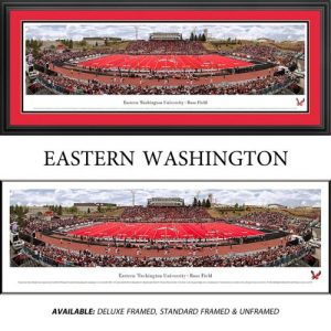 Eastern Washington University Framed Stadium Panoramic