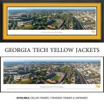 Georgia Tech Yellow Jackets Framed Stadium Panoramic