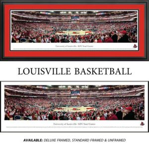 University of Louisville (Basketball) Framed Stadium Panoramic