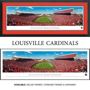 University of Louisville Framed Stadium Panoramic