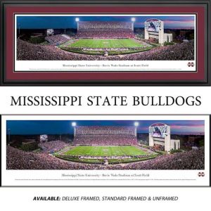 Mississippi State University Bulldogs Framed Stadium Panoramic