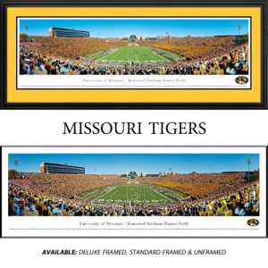 University of Missouri Tigers (End Zone) Framed Stadium Panoramic