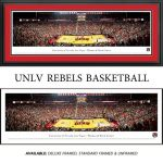 University of Nevada Las Vegas (UNLV) Runnin Rebels Framed Stadium Panoramic