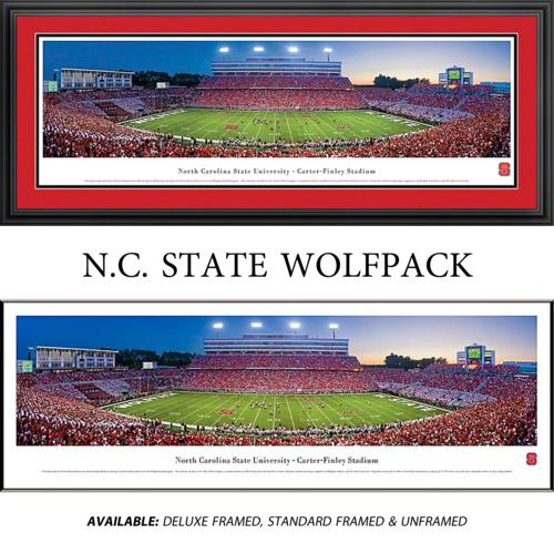 North Carolina State University Wolfpack Framed Stadium Panoramic