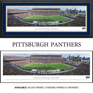 University of Pittsburgh Panthers Framed Stadium Panoramic