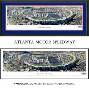 Atlanta Motor Speedway Framed Nascar Track Panoramic